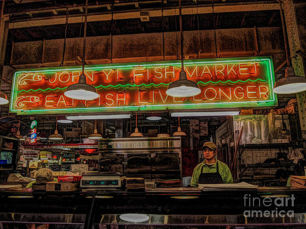 Photograph - Eat Fish by Craig Leaper