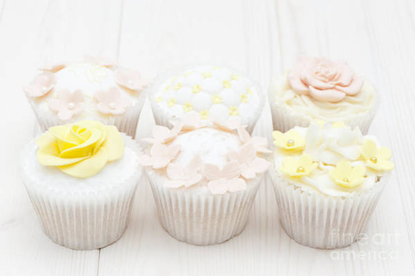 Fairy Cake Wall Art - Photograph - Eat With Your Eyes by Anne Gilbert