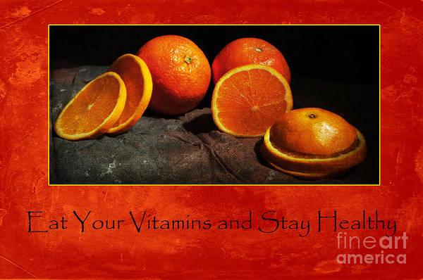 Photograph - Eat Your Vitamins by Randi Grace Nilsberg