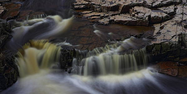 Photograph - Eau Claire Dells Park Silky Waterfalls by Dale Kauzlaric