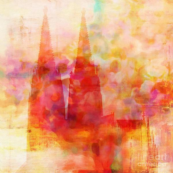 Painting - Eau De Cologne by Lutz Baar