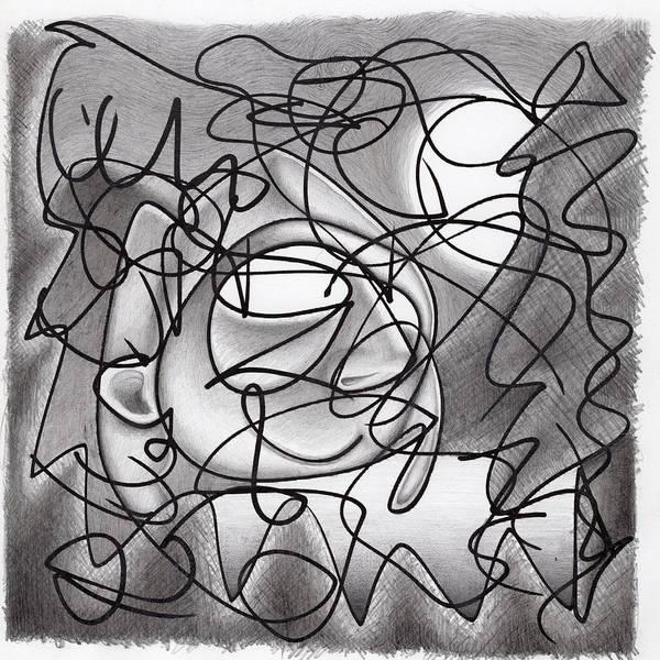 Drawing - Eavesdropping by Ismael Cavazos