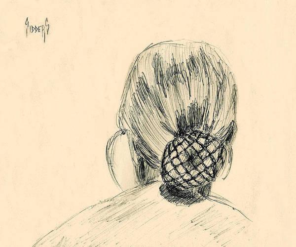 Drawing - EB by Sam Sidders
