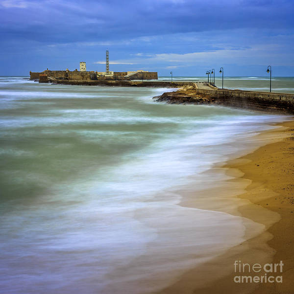 Photograph - Ebb And Flow Cadiz Spain by Pablo Avanzini