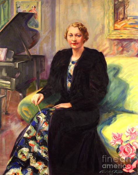 Painting - Ebba Sundstrom - -maestro 1937 by Art By Tolpo Collection