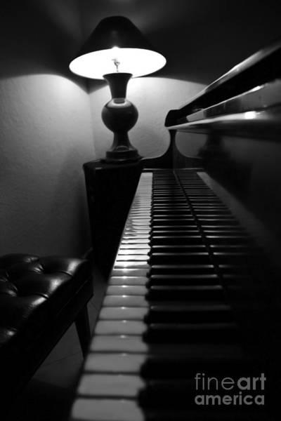 Grand Piano Photograph - Ebony And Ivory by Al Bourassa