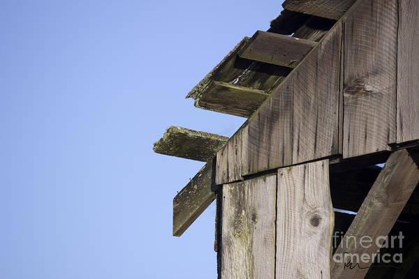 Photograph - Eby Island Structure by Stephen Prestek