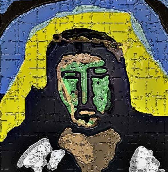 Frank Zappa Painting - Ecce Homo by Lenny Allgeyer