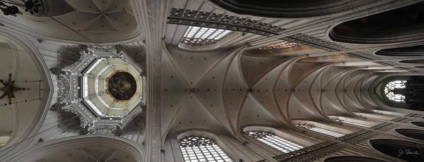 Wall Art - Photograph - Ecclesiastical Ceiling No. 3 by Joe Bonita