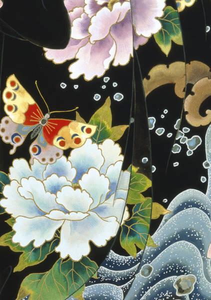 Kimono Digital Art - Echigo Dojouji   by MGL Meiklejohn Graphics Licensing