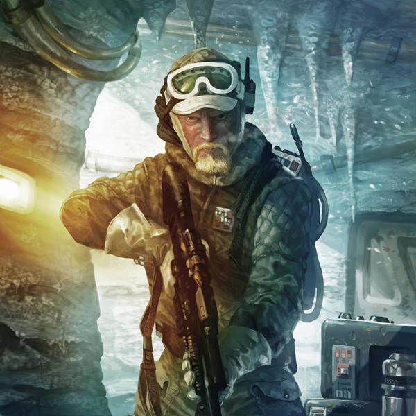 Wall Art - Digital Art - Echo Base Trooper by Ryan Barger