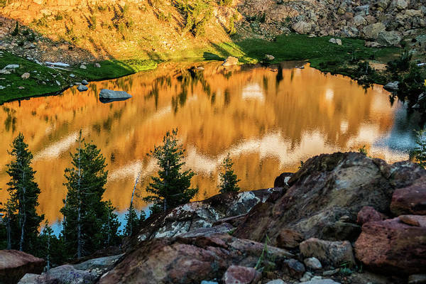 Trinity Photograph - Echo Lake, Within The 517,000 Acre by Rob Koeberer