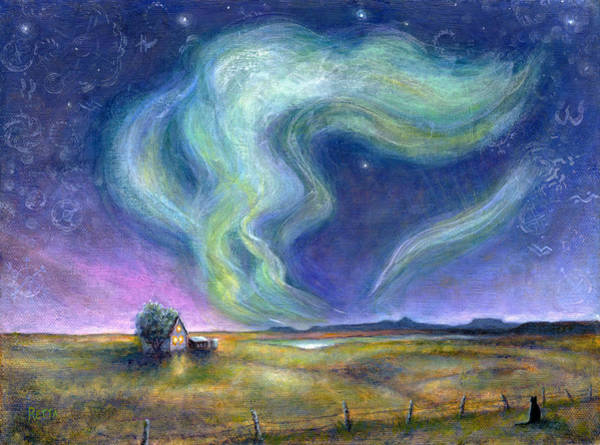 Painting - Echoes In The Sky by Retta Stephenson