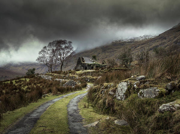 Cloudy Photograph - Echoes Of The Past by David Ahern