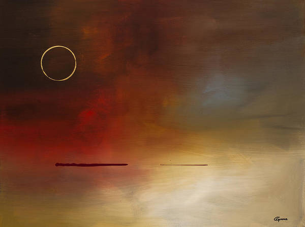 Painting - Eclipse by Carmen Guedez