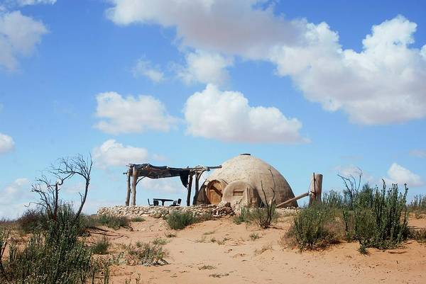 Mud House Photograph - Ecological Village by Photostock-israel/science Photo Library