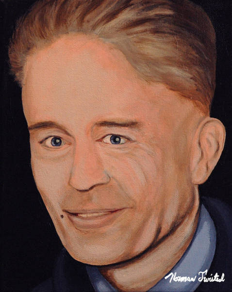 Serial Killer Painting - Ed Gein by Norman Twisted