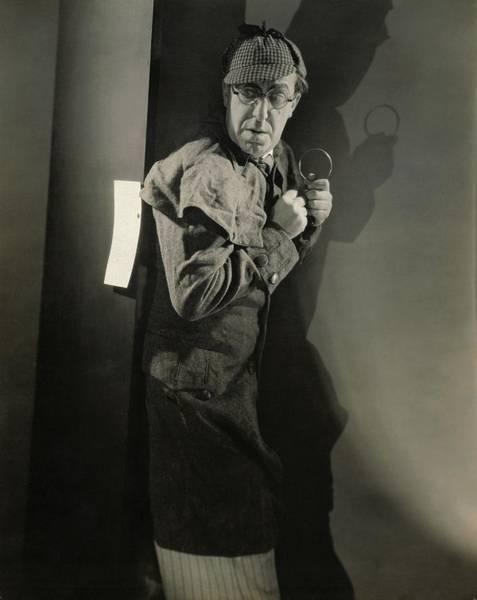 Wall Art - Photograph - Ed Wynn As Sherlock Holmes by Edward Steichen