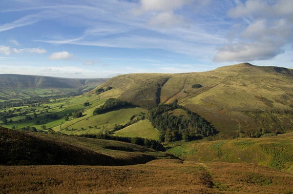 Photograph - Edale And Grindslow Knoll by Pete Hemington