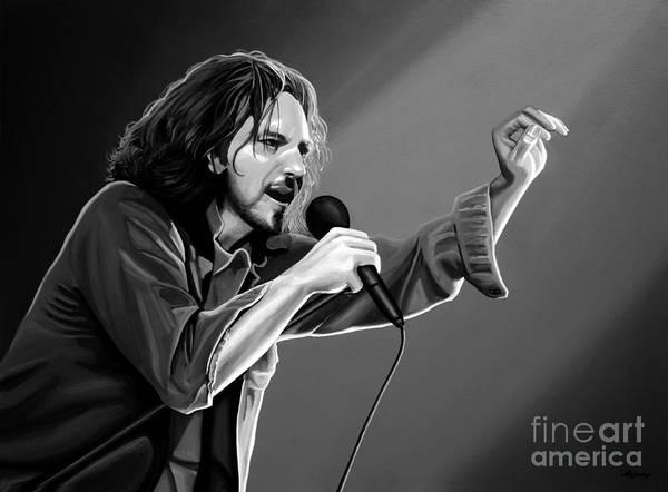 Hard Rock Mixed Media - Eddie Vedder  by Meijering Manupix