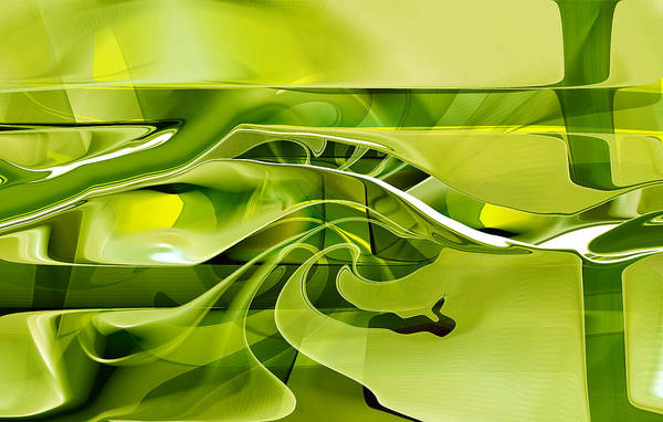 Digital Art - Eden 1 - The Serpent by rd Erickson