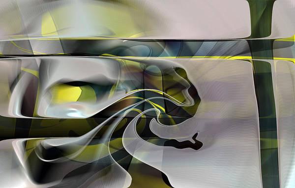 Digital Art - Eden 2 - The Serpent by rd Erickson