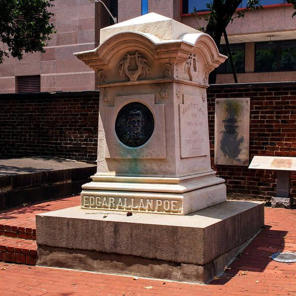 Edgar Allan Poe Tomb Art Print