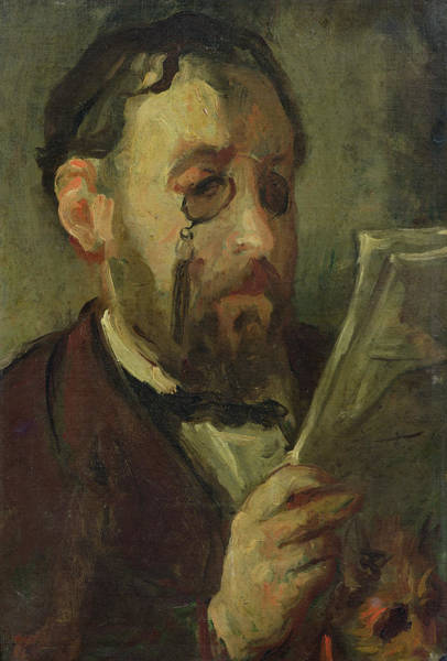 Impressionist Photograph - Edgar Degas 1834-1917 Oil On Canvas by Marcellin Gilbert Desboutin