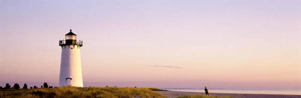 Sentinel Photograph - Edgartown Lighthouse, Marthas Vineyard by Panoramic Images
