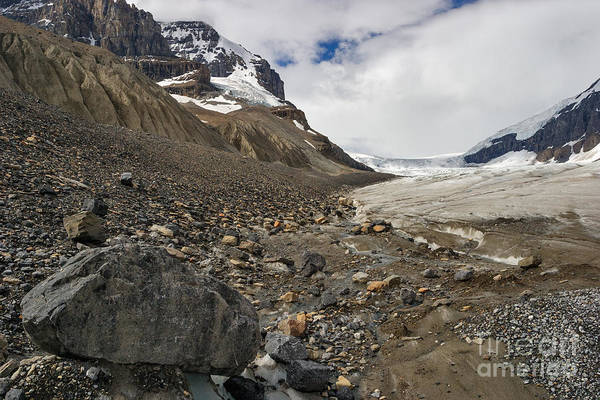 Photograph - Edge Of The Glacier by Charles Kozierok