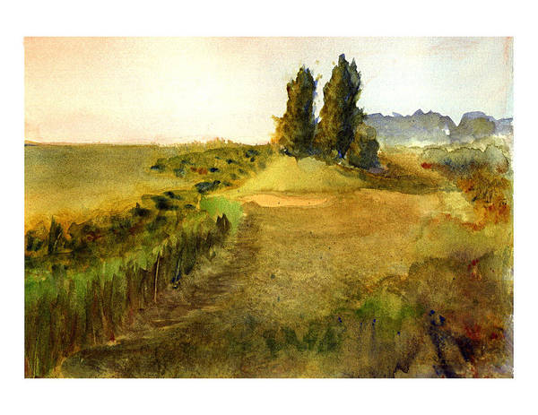 Painting - Edge Of The Marsh I by Peter Senesac