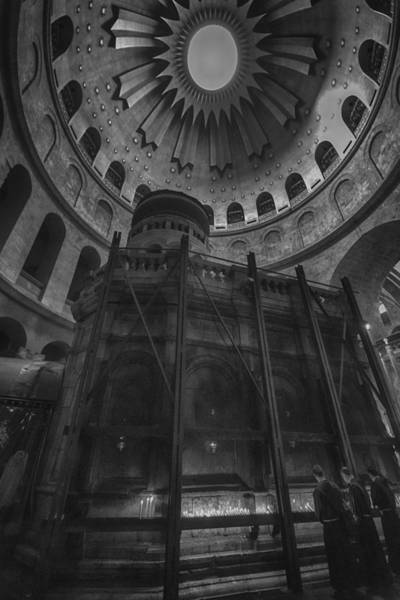 Church Of The Holy Sepulcher Photograph - Edicule - Church Of The Holy Sepulchre by Stephen Stookey