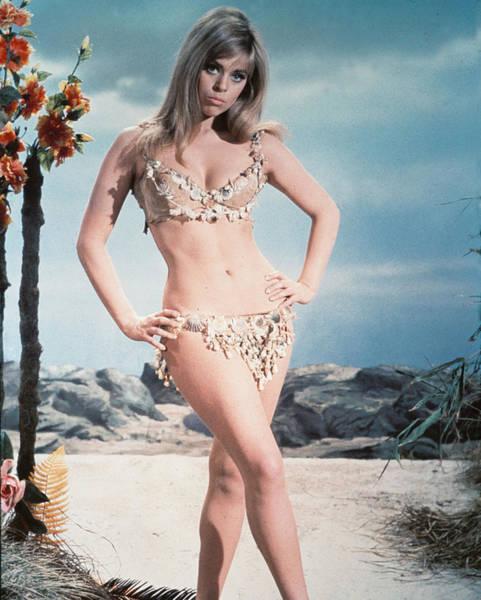 Prehistoric Photograph - Edina Ronay In Prehistoric Women  by Silver Screen