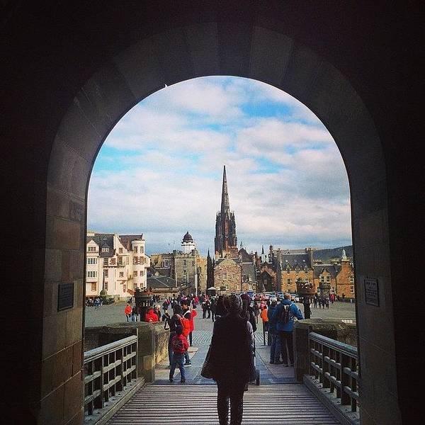 Japan Photograph - #edinburgh #castle #scotland ! by Ryoji Japan