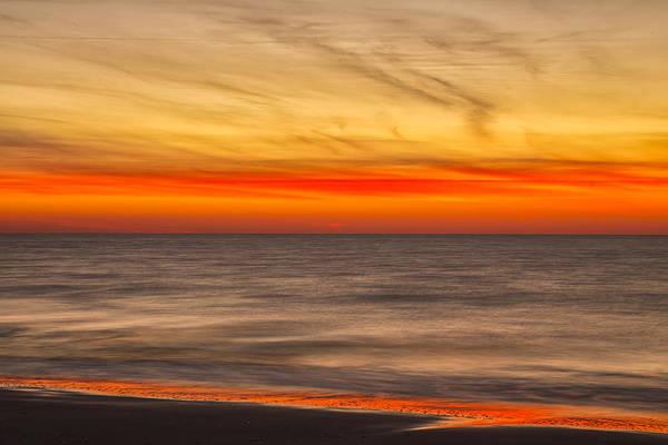 Photograph - Edisto Beach Sunrise 07 by Jim Dollar