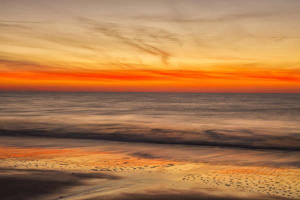 Photograph - Edisto Beach Sunrise 10 by Jim Dollar