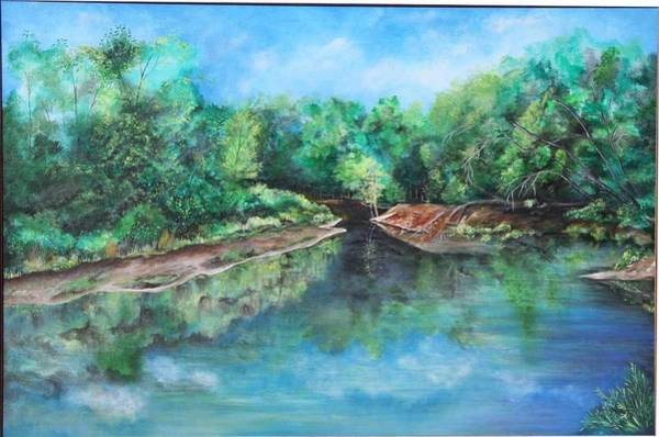 Painting - Edisto River by Virginia Bond
