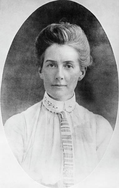 Heroine Photograph - Edith Cavell by Library Of Congress