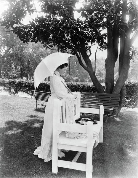 Photograph - Edith Roosevelt (1861-1948) by Granger