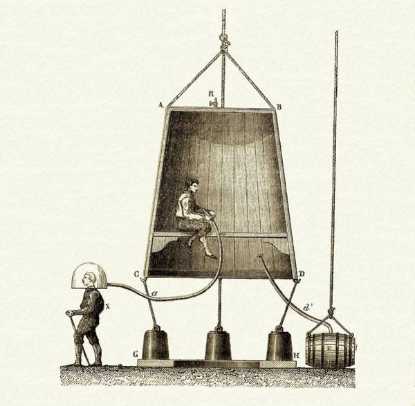 Diving Bell Photograph - Edmund Halley's Diving Bell by Sheila Terry