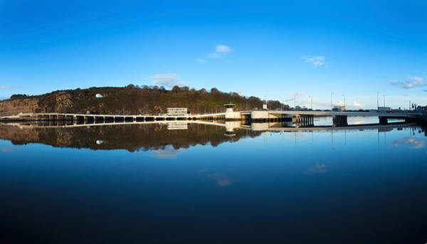 Suir Photograph - Edmund Rice Bridge Across A River by Panoramic Images