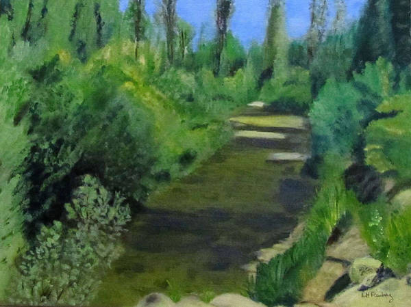 Painting - Edna Creek In Color by Linda Feinberg