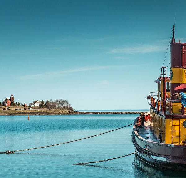 Tug Boat Photograph - Edna G by Paul Freidlund