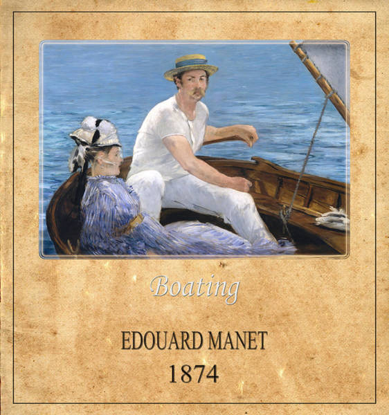 Photograph - Edouard Manet 4 by Andrew Fare