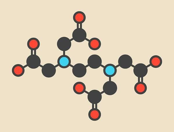 Preservative Wall Art - Photograph - Edta Drug Molecule by Molekuul