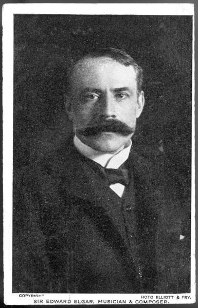Wall Art - Photograph - Edward Elgar (1857-1934) English by Mary Evans Picture Library