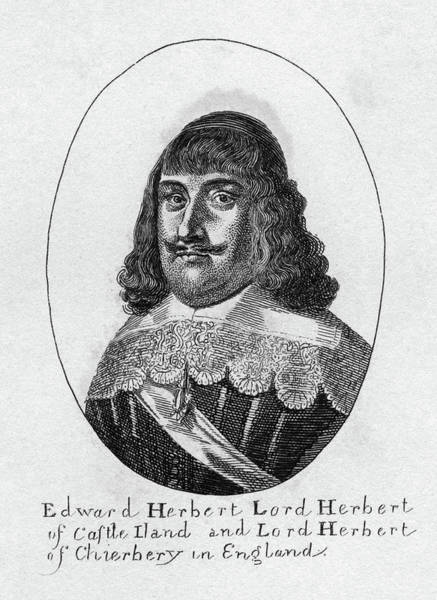 Painting - Edward Herbert (1583-1648) by Granger