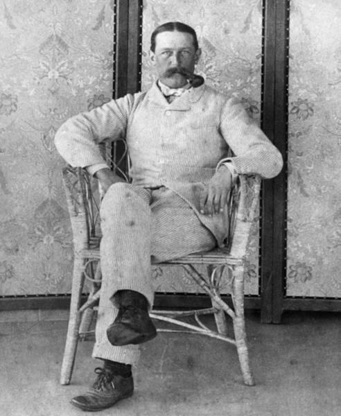 Photograph - Edward Robbins Wharton (1850-1928) by Granger