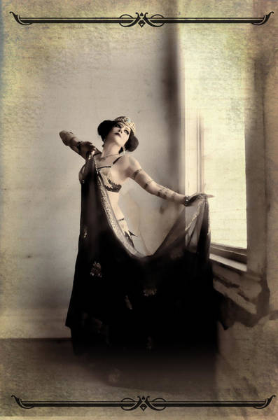 Burlesque Dancer Photograph - Edwardian Princess by Christina Maharet Hughes