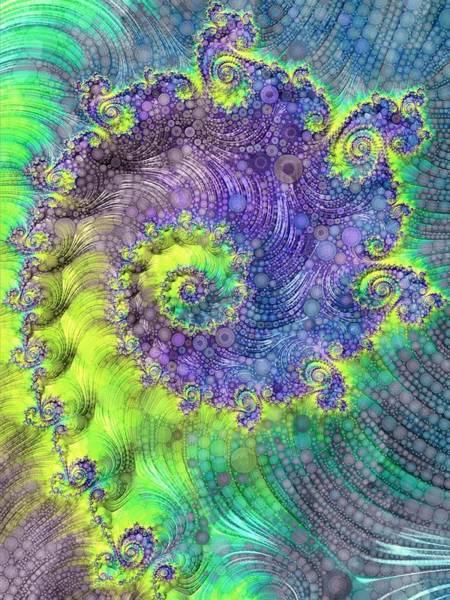 Digital Art - Effervescence by Susan Maxwell Schmidt